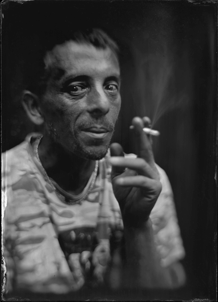 wet plate serie of portraits - The neighbors